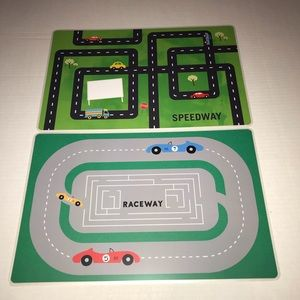Other - Set of 2 Car and Road Themed Placemats, NWOT